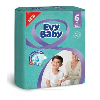 Дитячі підгузки N6 (16+ кг) Evy Baby