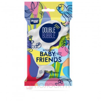 Губка банна дитяча Baby Friends Фрекен Бок