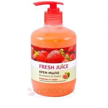 Рідке мило Полуниця Fresh Juice