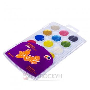 Фарби акварельні медові 18 кольорів Гамма