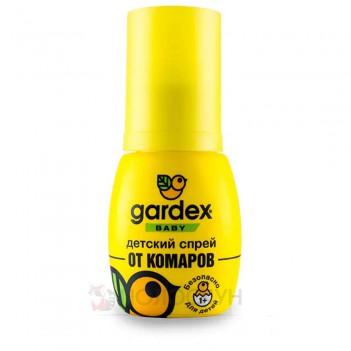 Спрей від комарів Baby на одяг та тіло Gardex