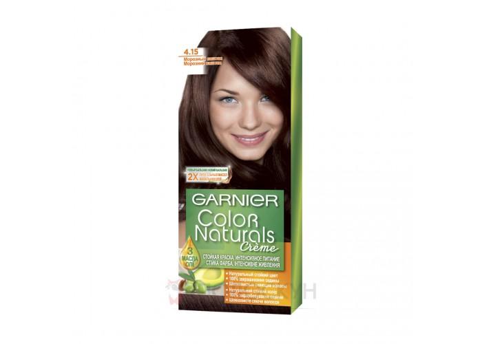 Фарба для волосся N4.15 Морозний каштан Garnier