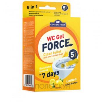 Гелеві диски для унітазів WC Gel Force Лимон General Fresh