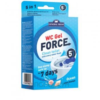 Гелеві диски для унітазів WC Gel Force Океан General Fresh