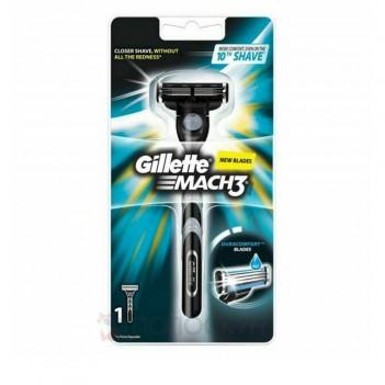 Станок для гоління Mach 3 + картридж Gillette