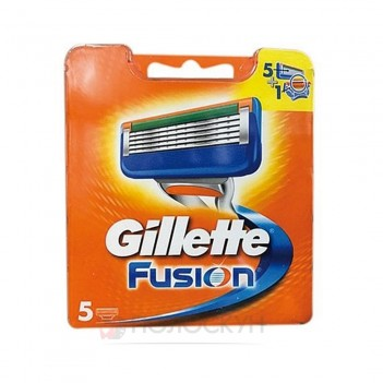 Картридж для станка оранжевий Gillette