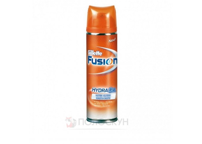 Гель для гоління Fusion Gillette
