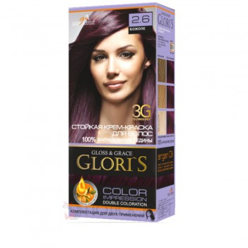 Фарба для волосся №2.6 Божоле Gloris