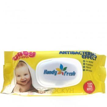 Вологі серветки Baby Handy Fresh