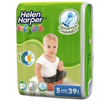 Дитячі підгузки Soft&Dry Junior N5 (11-25кг) Helen Harper