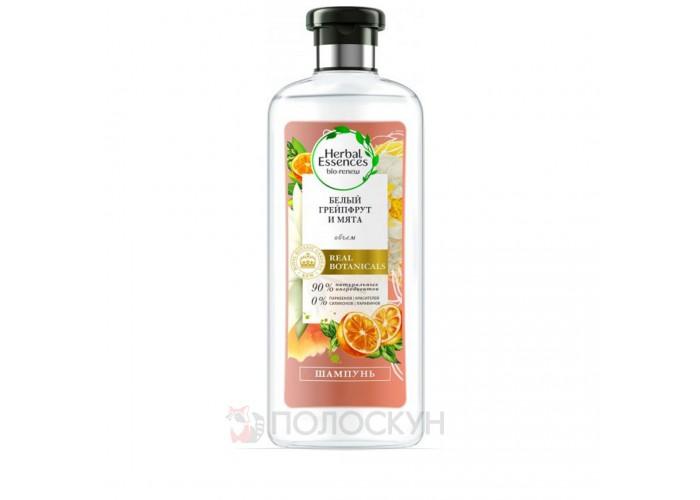 Шампунь Білий грейпфрут та м'ята Herbal Essences