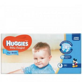 Дитячі підгузки N4 Ultra Comfort 8-14 кг Huggies