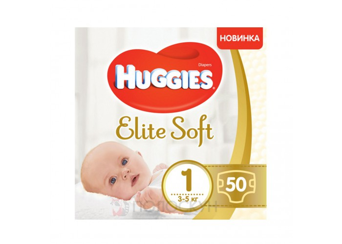 Підгузки N1 Elite Soft до 5 кг Huggies