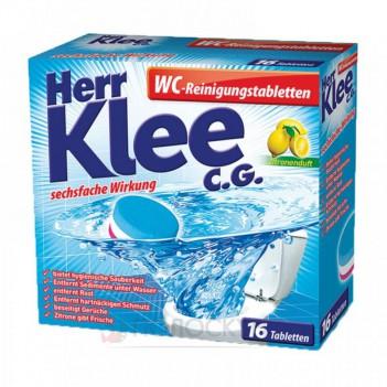 Таблетки для миття туалетів для видалення нальоту Klee