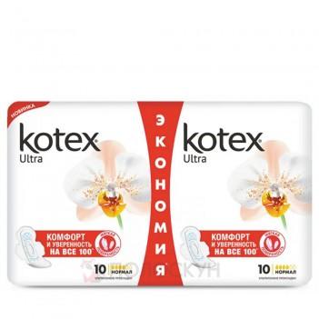 Гігієнічні прокладки Normal Soft Kotex