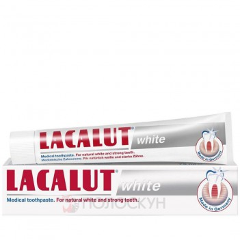 Зубна паста White Lacalut