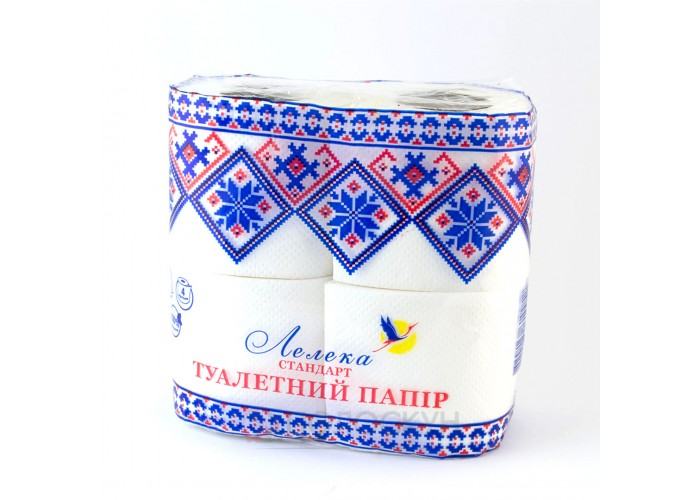 Туалетний папір Стандарт Лелека