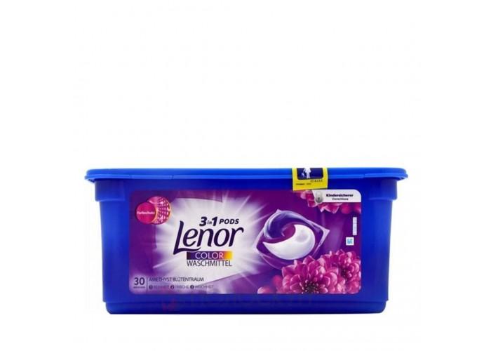 Гелеві капсули для прання Color Lenor