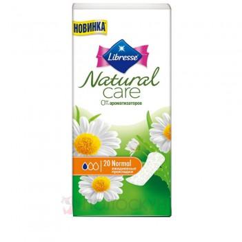 Щоденні прокладки Natural Normal Libresse