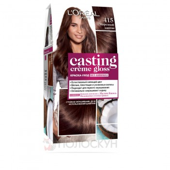 Фарба для волосся Casting Creme Gloss №415 Морозний каштан LOreal