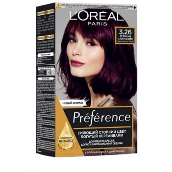 Фарба для волосся Recital Preference №3.26 Тесно-фіолетовий LOreal