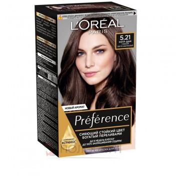 Фарба для волосся Recital Preference №5.21 Глибокий світло-каштановий LOreal