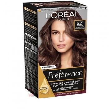 Фарба для волосся Recital Preference №6.21 Перламутровий світло-каштановий LOreal