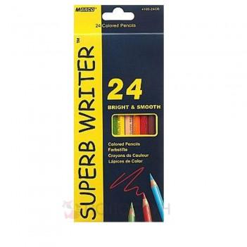 Кольорові олівці 24 кольори Marco