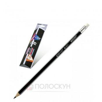 Олівець простий з гумкою Grip-Rite НВ Marco