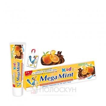 Зубна паста для дітей Апельсин-Шоколад MegaMint