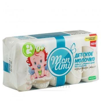 Мило туалетне Дитяче молочко Mon Ami