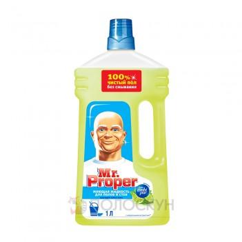Засіб для миття підлоги Бадьорий лайм та м'ята Mr. Proper