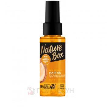 Олія для інтенсивного догляду за волоссям і захисту проти посічених кінчиків Nature Box