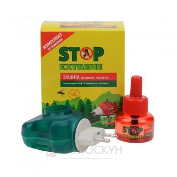 Електрофумігатор + рідина від комарів Stop Extreme