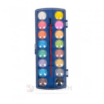 Фарби акварель суха 16 кольорів