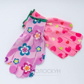 Робочі рукавиці Квітка