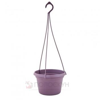 Вазон з підвіскою Глорія 25х16 см Фіолетовий