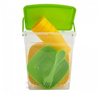 Набір посуду для пікніка на 4 персони
