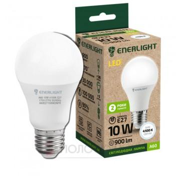 Лампочка світлодіодна Enerlight A60 10Вт 4100K