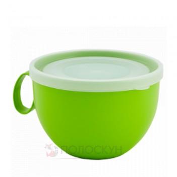 Чашка з кришкою Салатовий