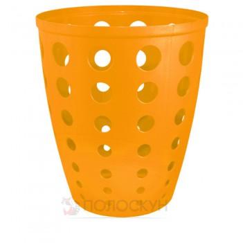 Корзина для сміття Світло-оранжева