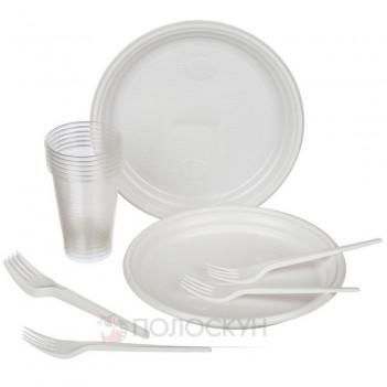 Набір одноразового посуду на 6 персон