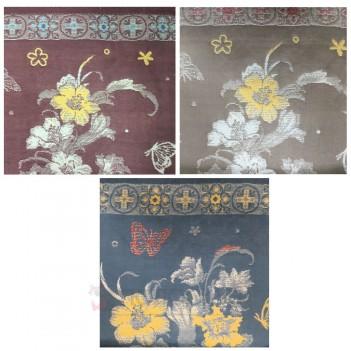 Кухонний рушник льон Квіти РК-468
