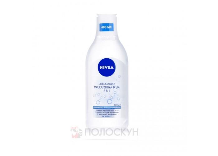 Міцелярна вода для нормальної та комбінованої шкіри Nivea