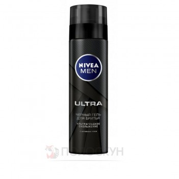 Гель для гоління Ultra Nivea