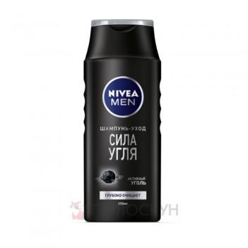 Чоловічий шампунь Сила вугілля Nivea