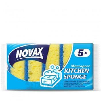 Губка для миття посуду Novax