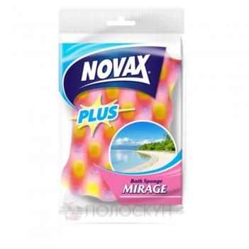 Губка банна Mirage Novax