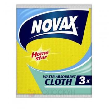 Серветки вологопоглинаючі Novax