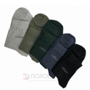 Шкарпетки чоловічі №600 Класика Чорні 27р та 29р Нова Лінія
